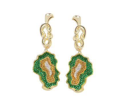 OLIVE TO INIFINTIY EARRINGS