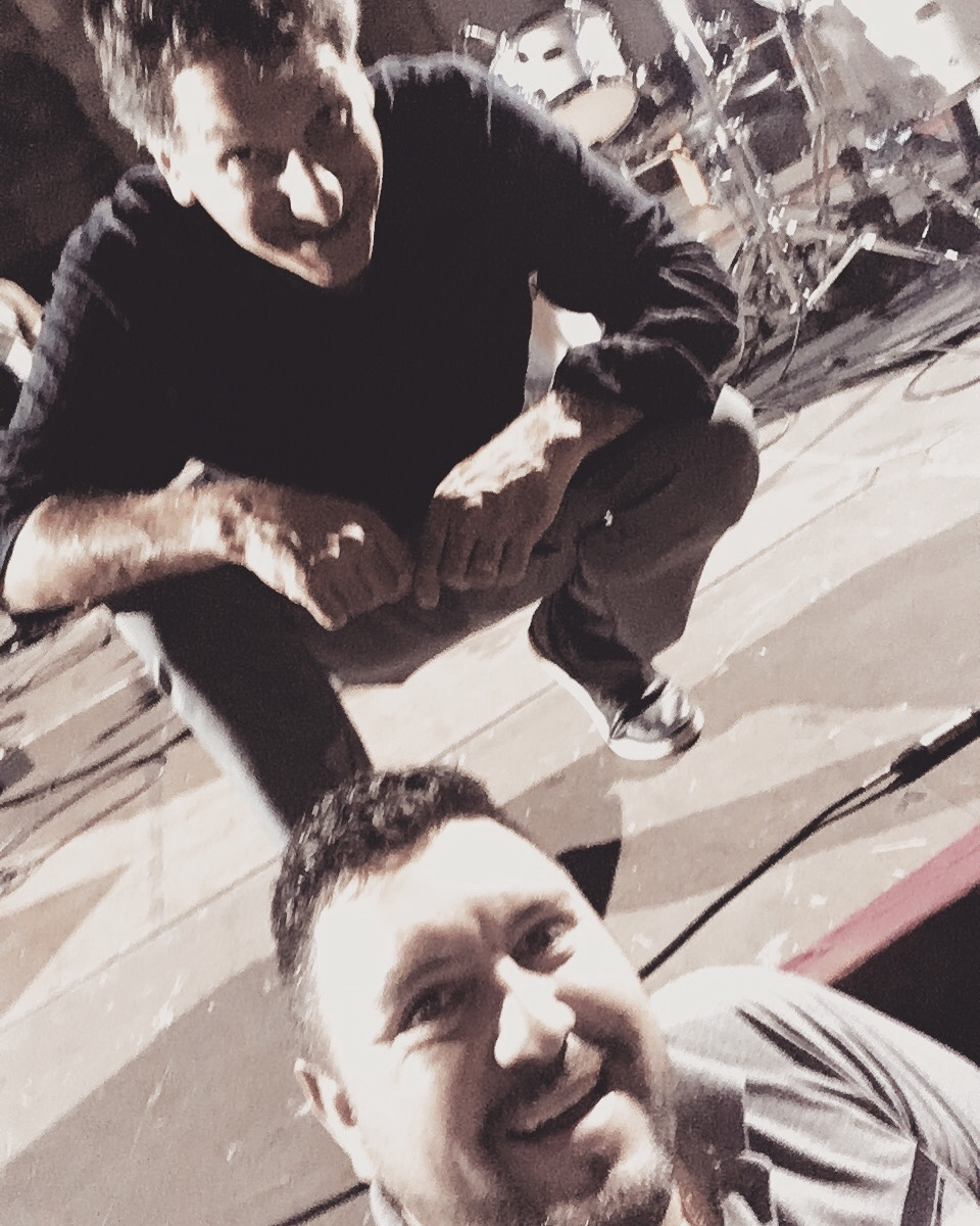 Com Jonh Patitucci em Firen