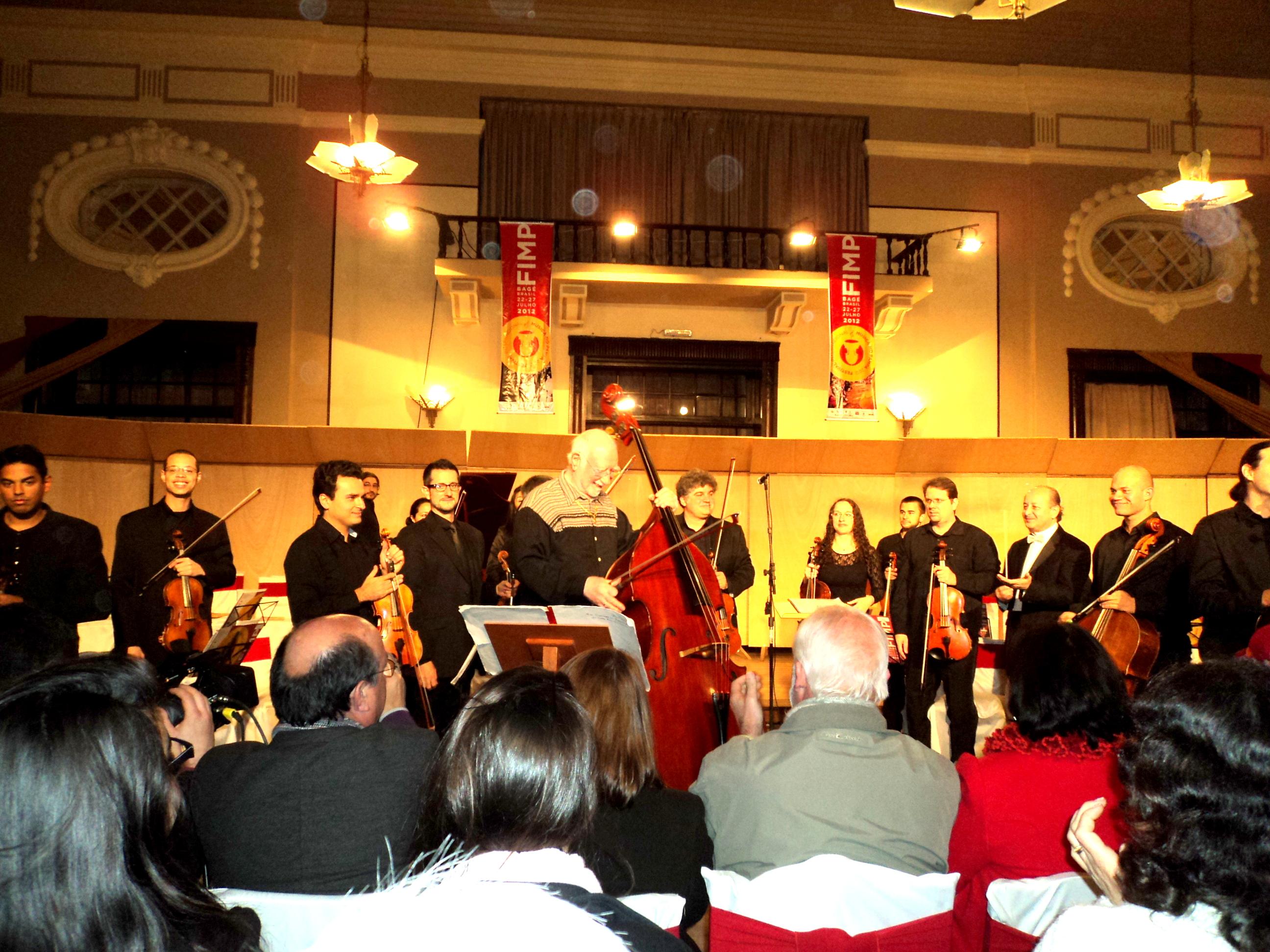 Rabath e orquestra FIMP