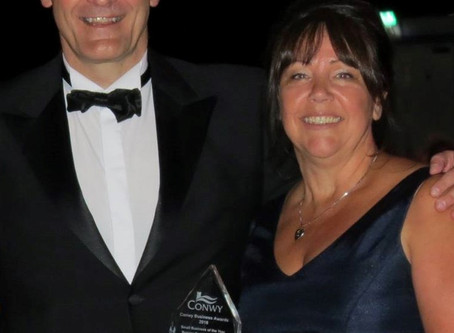 Nelson Myatt Solicitors win prestigious prize at Conwy Business Awards