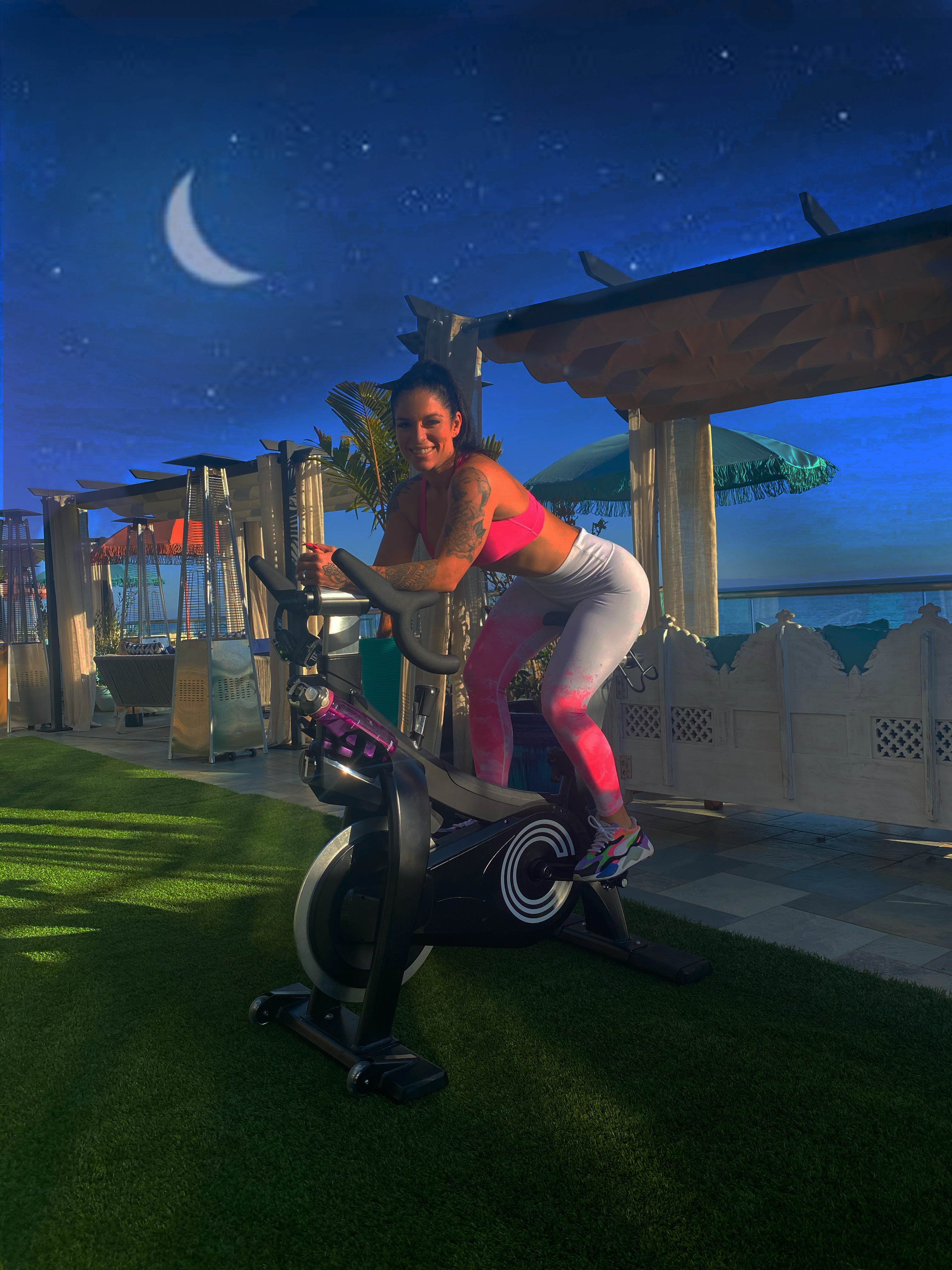 Live DJ Cycling Ride Into The Night