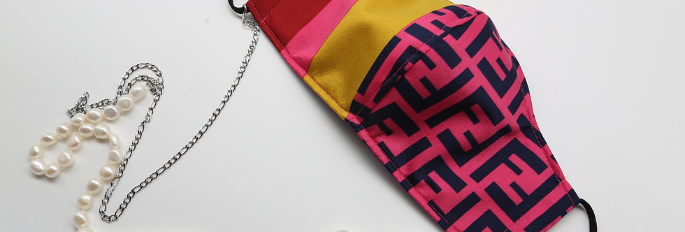 Authentic Fendi Scarf Facemask