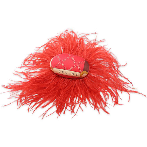 Upcycled Feathered Barrette - CHOOSE YOUR COLOR