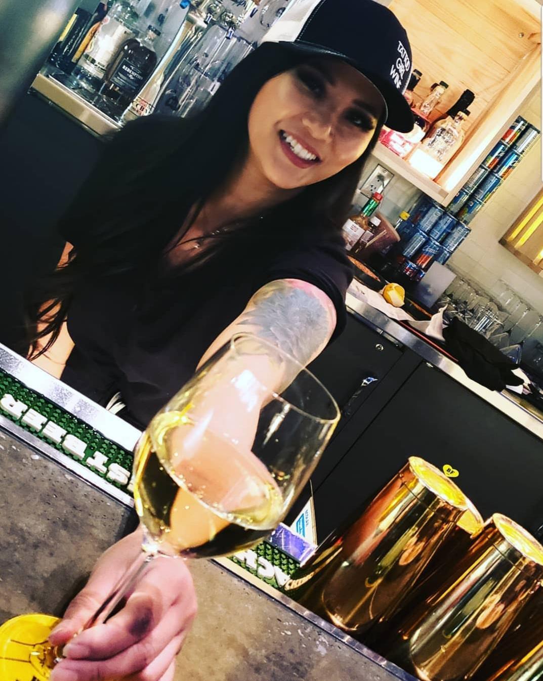 Tattoo Girl in Las Vegas