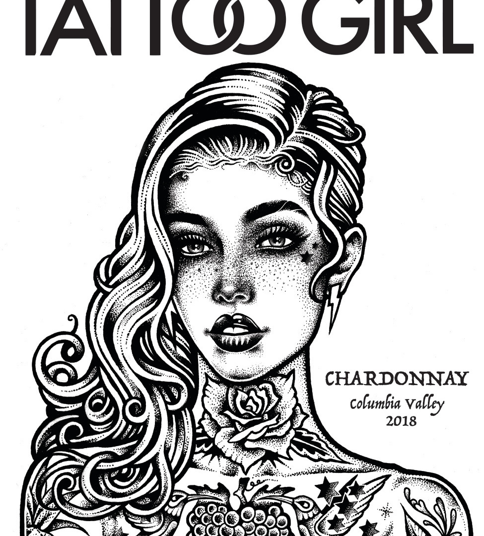 TATTOO GIRL Chardonnay