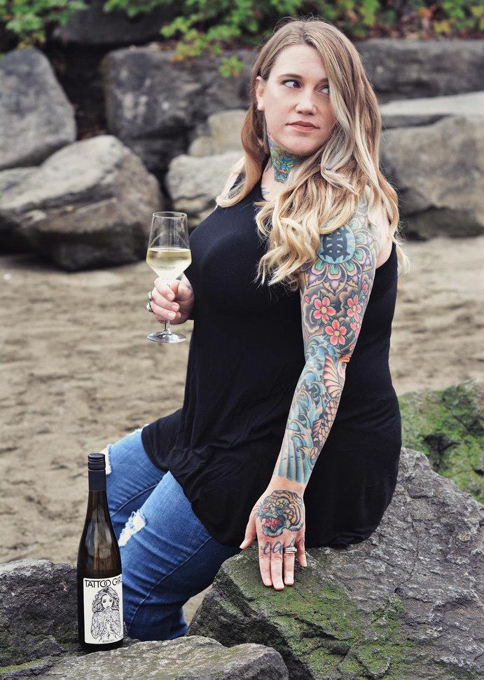 Tattoo Girl of October