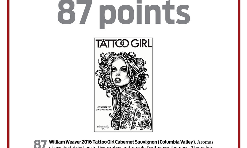 2016 Tattoo Girl Cabernet Sauvignon
