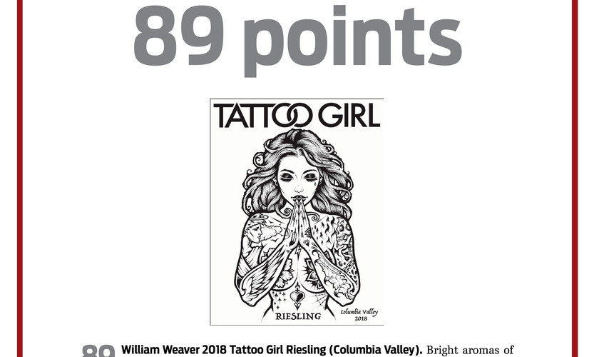 2018 Tattoo Girl Riesling