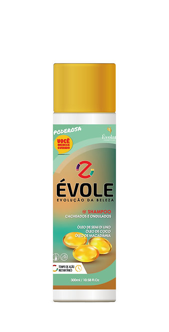 Shampoo Cacheados e Ondulados 300ml