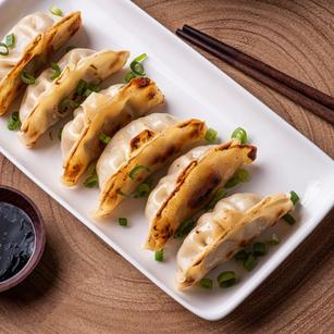 Twigim Mandu (Korean style deep fried potsticker)