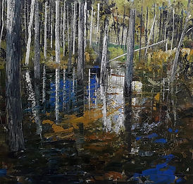 Floody Pines Private Collection The Northern Irleand Arts Council