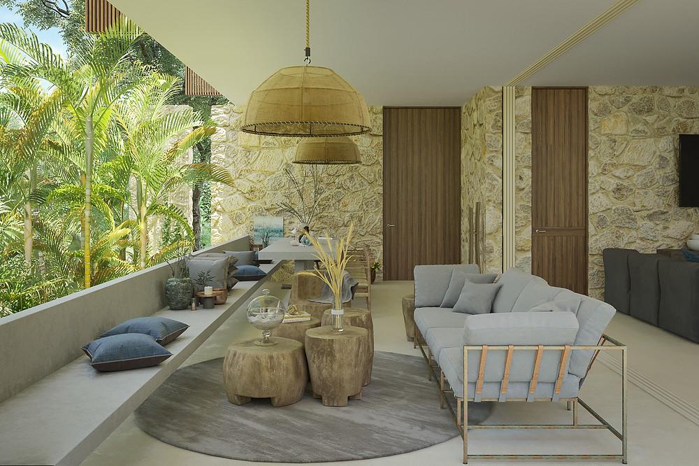 tescala | S2616 | terraza junto a selva