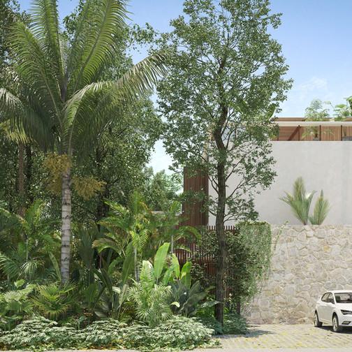 tescala | S2616 | fachada huéspedes