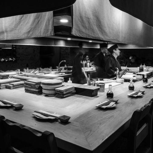 tescala | Ah-Un | Barra de sushi