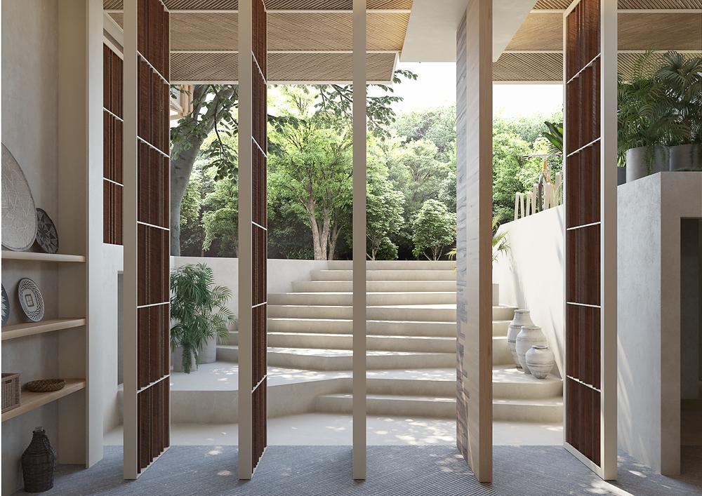 tescala | DoOr | puertas pivotantes de acceso