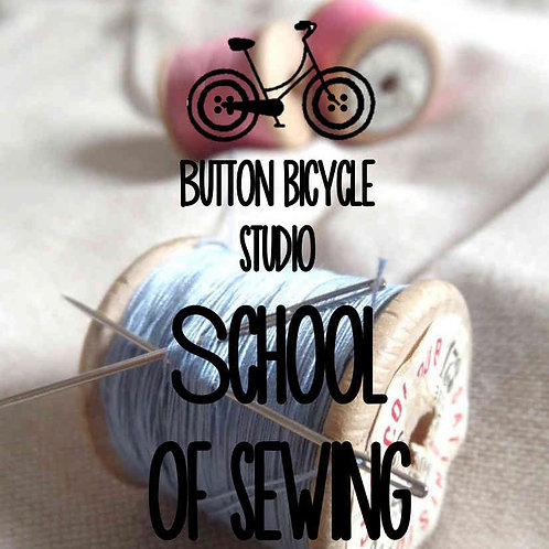 Button Bicycle School of Sewing Term