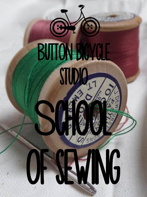 Button Bicycle School of Sewing Single session