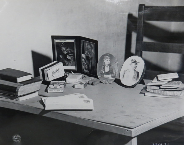 Personal mementos of Hermann Goering displayed on his cell table