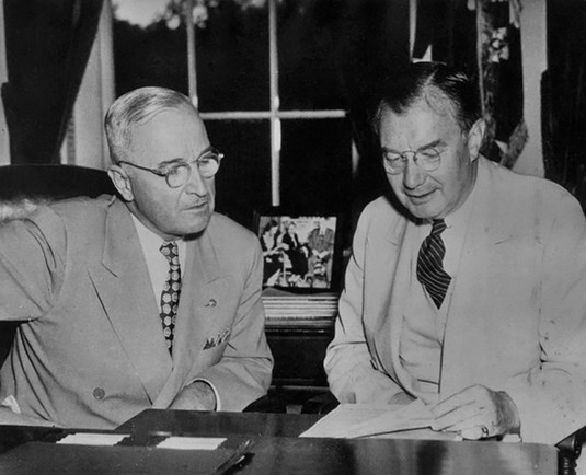 Harry Truman appointed Supreme Court Justice Robert H. Jackson as the US Chief Prosecutor. Jackson was largely responsible for the international diplomacy that helped our Allies reach consensus on a trial process. He also spearheaded the US prosecution strategy wherein actual Nazi documents would be used as evidence to convict – thereby cementing the record for all of history.
