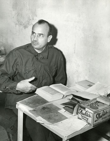 Hans Frank in Nuremberg prison