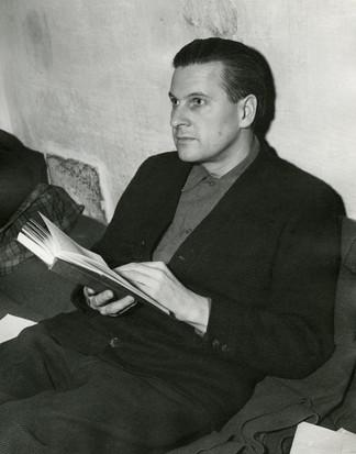 Baldur von Shirach in Nuremberg prison, Nov. 1945