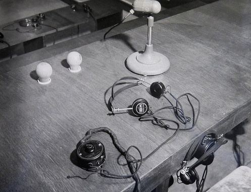 IBM headsets used by all attendees at the trial.