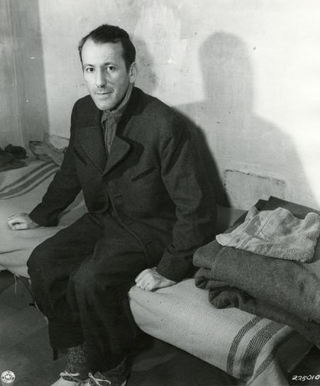 Ernst Kaltenbrunner in Nuremberg prison, Nov. 1945
