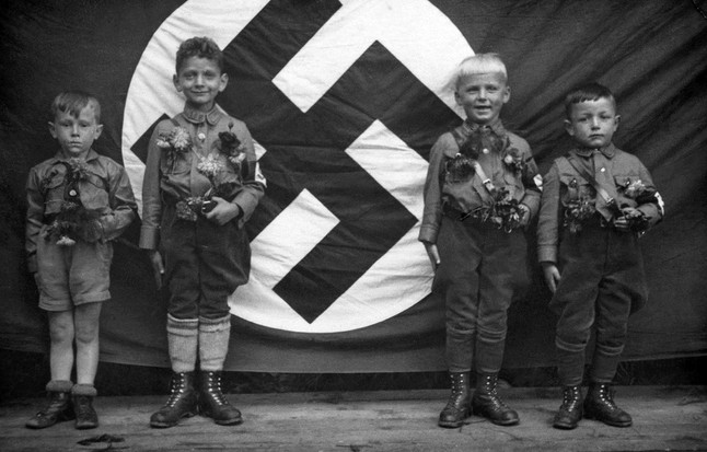 """""""He alone who owns the youth, gains the future!"""" –Adolph Hitler"""