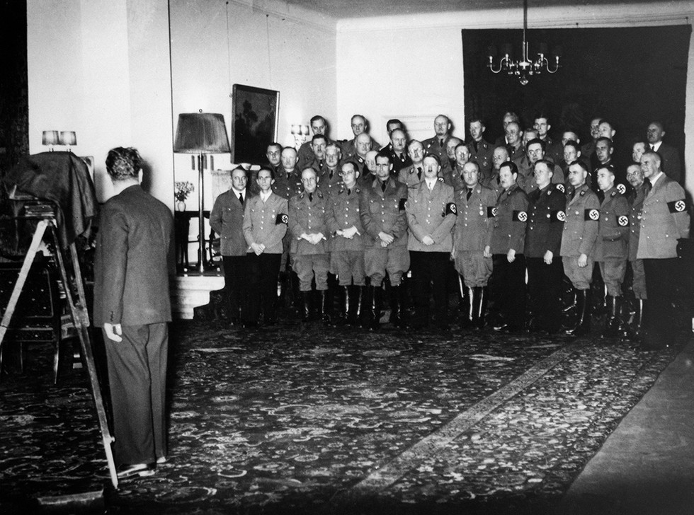 Group picture of Nazi leadership after Hitler was appointed Chancellor on January 30, 1933