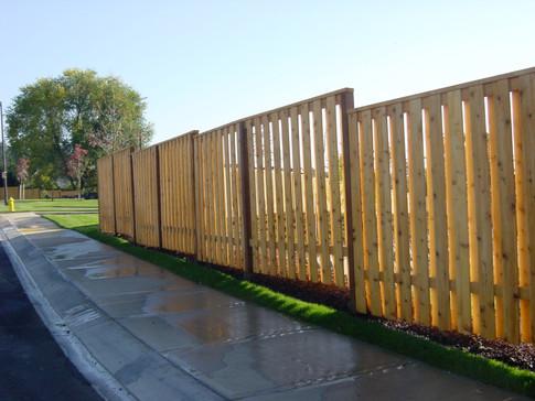 Good Neighbor Cedar Fence