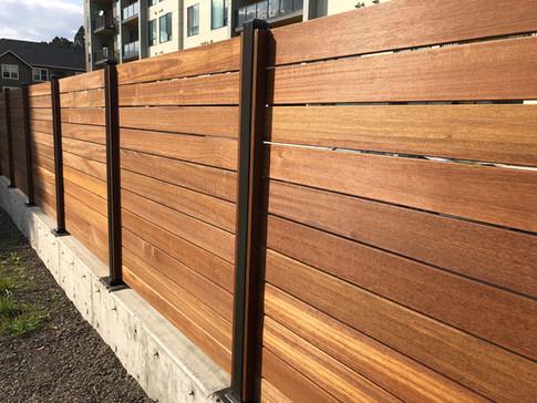 Custom Horizontal Epay Fence