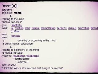 "Challenging ""Mental"" Health"