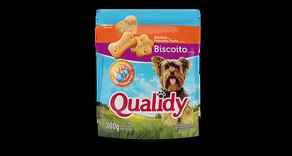 Qualidy Biscoito Cães Adultos Pequeno Po