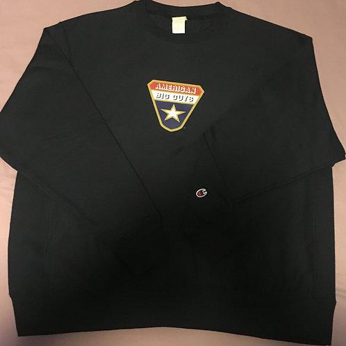 901 - American Big Guys Champion Heavy Sweatshirt