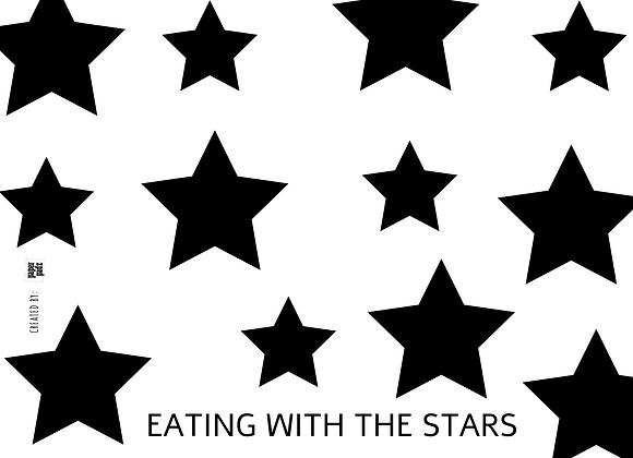 אוכלים עם כוכבים - רקע לבן