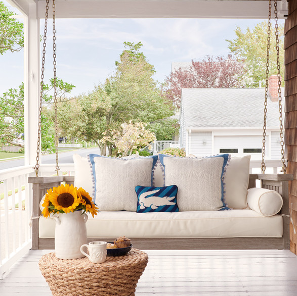 Beach House Chic - Porch Swing