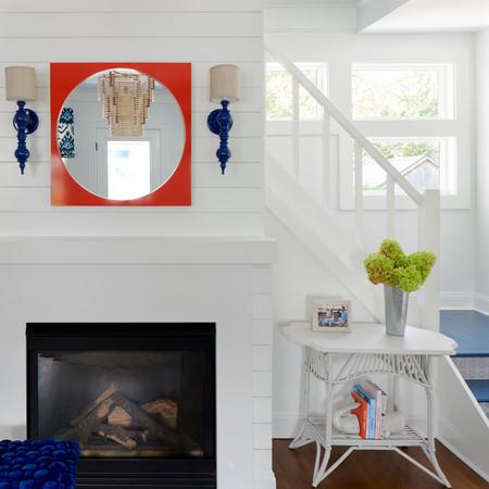 Beach House Chic - Fireplace