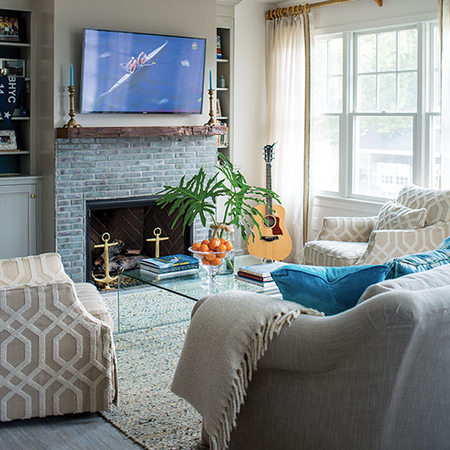 Bay Head - Living Room