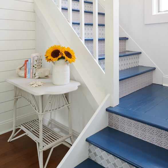 Beach House Chic - Stairwell