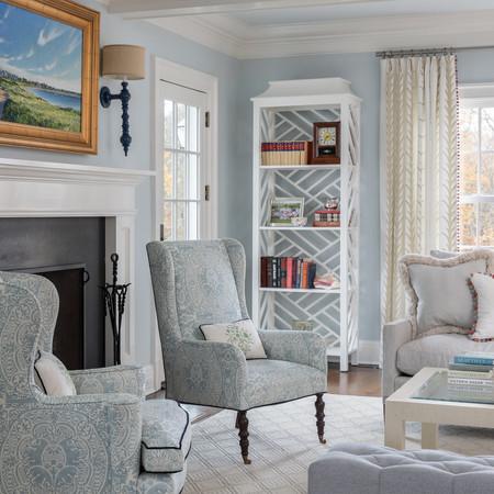 Darien - Living Room