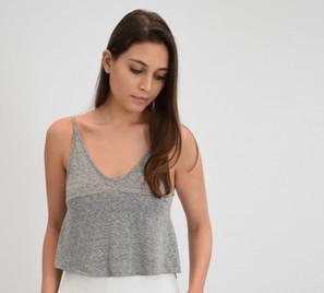 Grey Melange Cami
