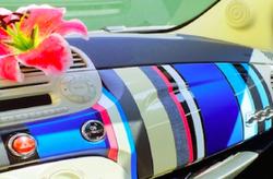 Car Wrapping all'interno vettura
