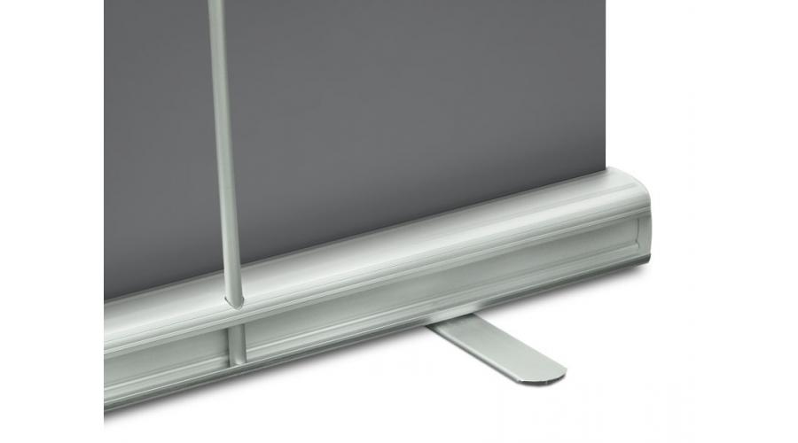 Base in alluminio con2 piedini