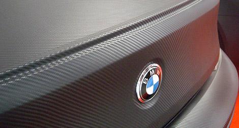 Car Wrapping, effetto carbonio