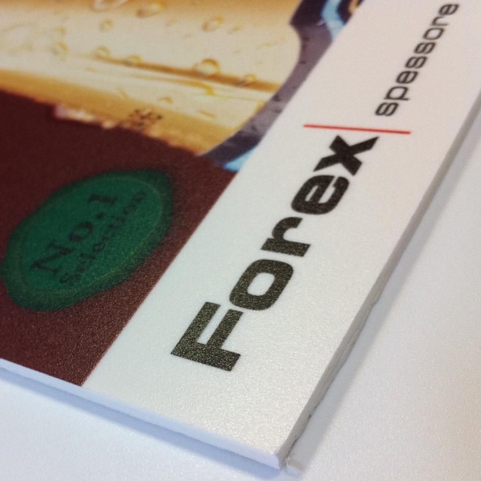 stampa diretta UV su forex