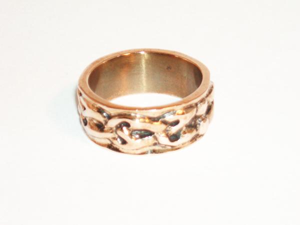 Viking pattern ring