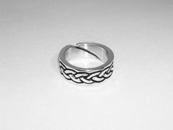 Viking braid ring