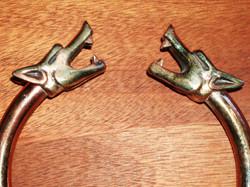 Close up Cloak ring brooch