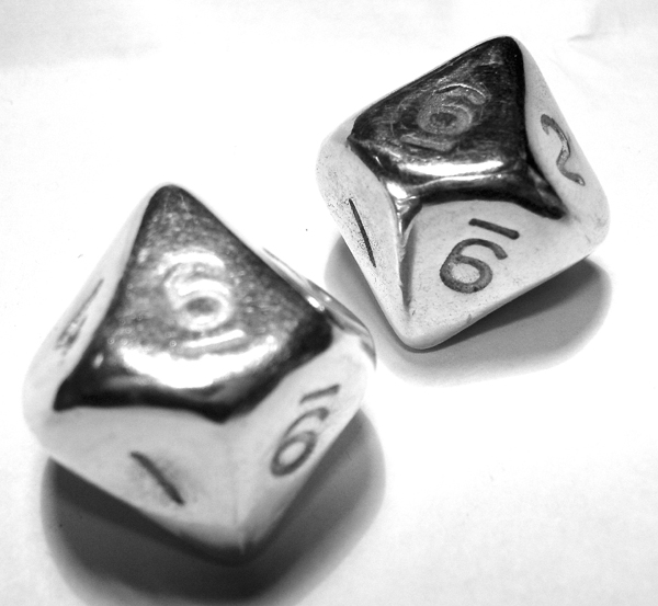 10-sided die