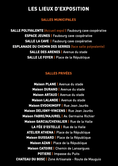 lieux expo 17/7